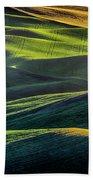 The Green Waves Of Palouse Wa Dsc05032  Bath Towel