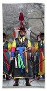 The Guards Of Seoul. Bath Towel