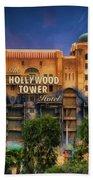 The Hollywood Tower Hotel Disneyland Bath Towel