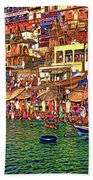 The Holy Ganges - Paint Bath Towel