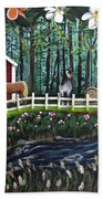 The Horse Farm Bath Towel