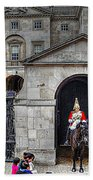 The Horse Guard At Whitehall Hand Towel