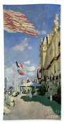 The Hotel Des Roches Noires At Trouville Bath Towel