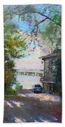 The House By The River Bath Towel