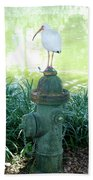 The Hydrant Bird Bath Towel