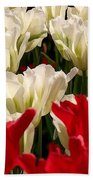 The Image Of A Tulip Bath Towel