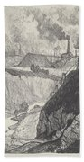 The Iron Mine Bath Towel