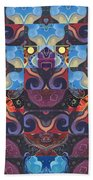 The Joy Of Design Mandala Series Puzzle 6 Arrangement 8 Bath Towel