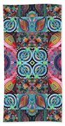 The Joy Of Design Mandala Series Puzzle 7 Arrangement 1 Bath Towel