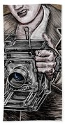 The King Of Cameras Hand Towel