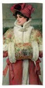 The Lady Of The Snows Bath Towel