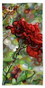 The Last Rose Of Summer Hand Towel