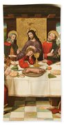 The Last Supper Bath Towel