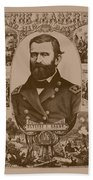 The Leader And His Battles - General Grant Bath Towel