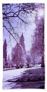 The Light Of River View Bath Towel