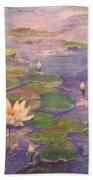 The Lily Pond Hand Towel