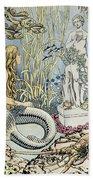 The Little Mermaid Bath Towel