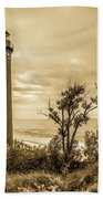 The Little Sable Lighthouse Bath Towel