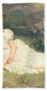 The Little Shepherdess Bath Towel