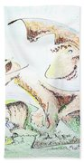 The Living Planet Hand Towel