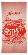 The Lobster Pot 1960s Hand Towel