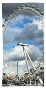 The London Eye Bath Towel