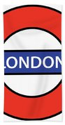 The London Underground Hand Towel