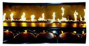 The Lounge Fireplace Bath Towel