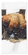 The Majestic Bison Bath Towel