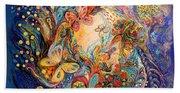 The Melancholy For Chagall Bath Towel