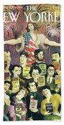 New Yorker June 27th, 1994 Bath Sheet