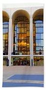 The Metropolitan Opera House Bath Towel