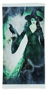 The Midnight Garden Witch Hand Towel