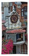 The Mission Inn Clock Tower Bath Towel