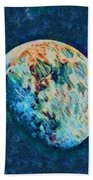 The Moon Bath Towel