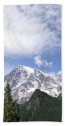 The Mountain  Mt Rainier  Washington Bath Towel
