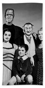 The Munster Family Portrait Bath Towel