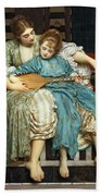 The Music Lesson Bath Towel