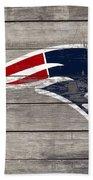 The New England Patriots 3c Bath Towel
