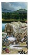 The Nez Perce Bath Towel