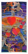 The Nine Lives Of The Heart Hand Towel