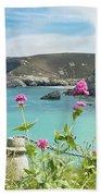 The North Cornwall Coast Bath Towel