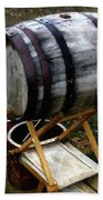 The Old Beer Barrel Bath Towel
