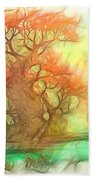 The Old Tree Of The Forest Bath Towel