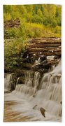 The Old Wooden Dam Bath Towel