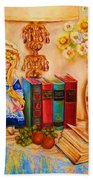 The Open Book Bath Towel
