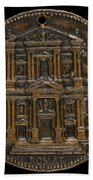 The Opening For Worship Of The Chiesa Del Gesu, Rome [reverse] Bath Towel
