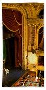 The Opera House Of Budapest Bath Towel