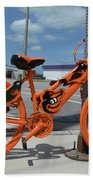 The Orioles Bicycle Bath Towel