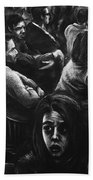 The Outsider's Restless Mind Bath Towel